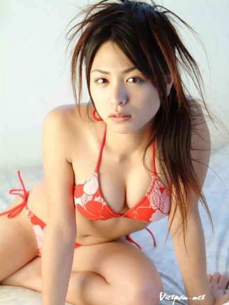Ảnh nóng thiếu nữ đẹp nhất xứ Phù Tang